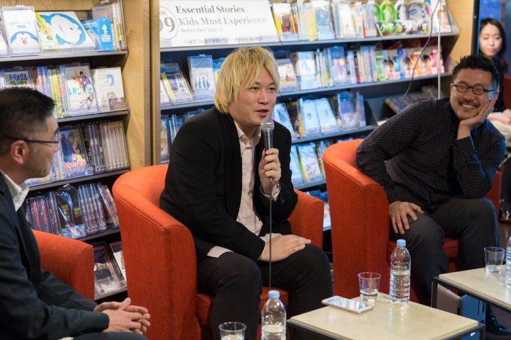 中央:メディア・アクティビストの津田大介